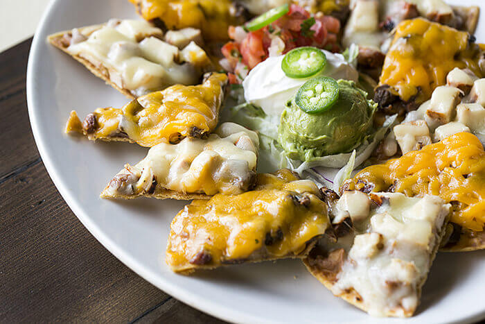 hot menu items fajitas nachos