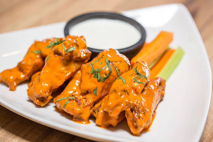 hot menu items border wings
